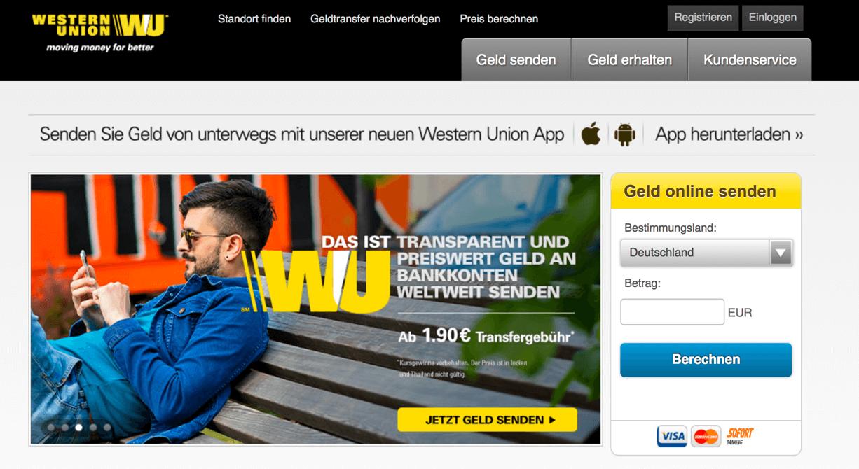 Western Union Erfahrungen von Aktiendepot.com