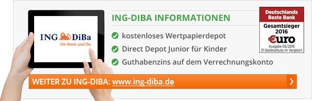 ING DiBa Depot Prämie