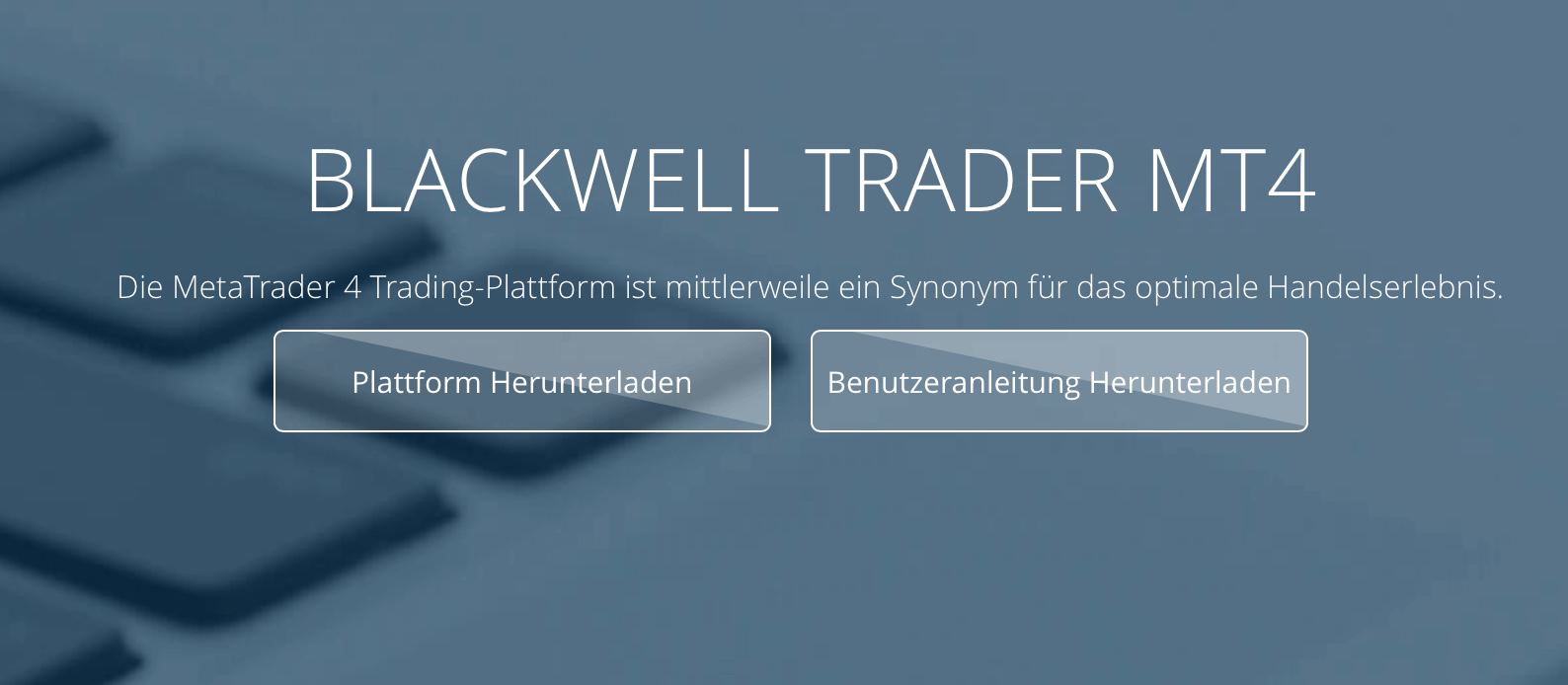 Blackwell Global Handelsplattform