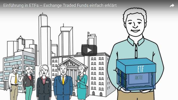 Informationsvideo zu ETFs auf der Website von Diversifikator_