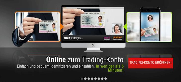 GKFX Trading Konto eröffnen