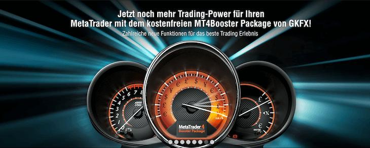 Der MetaTrader 4 Booster bei GKFX
