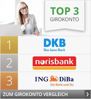 Top 3 Girokonto