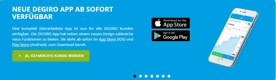 DEGIRO mobile App