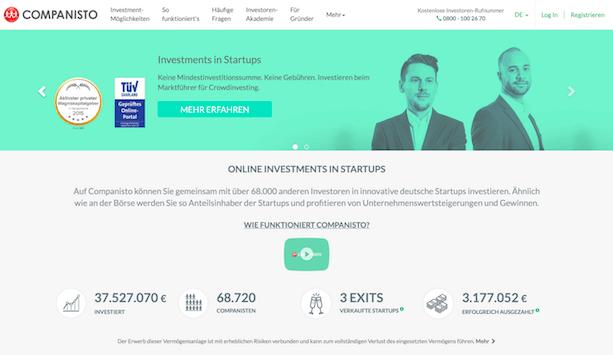 Companisto Webseite