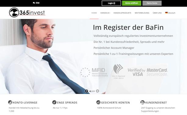 365invest Erfahrungen von Aktiendepot.com