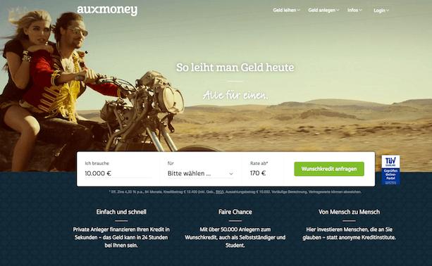 auxmoney Krediterfahrungen von Aktiendepot.com