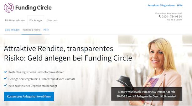 Funding Circle Rendite