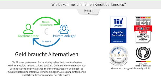 Lendico Erfahrungen von Aktiendepot.com