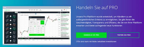 Invest.com Pro-Plattform