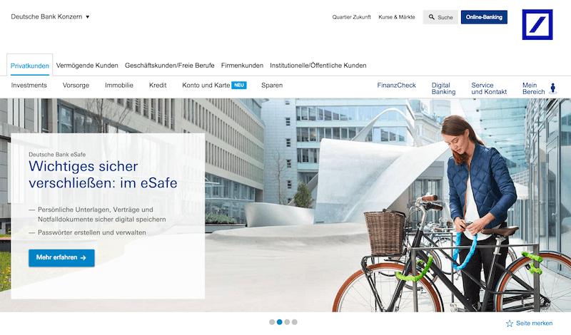 Deutsche Bank Girokonto Erfahrungen von Aktiendepot.com