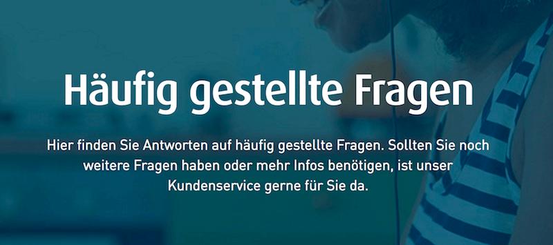 Ferratum Bank FAQ Bereich