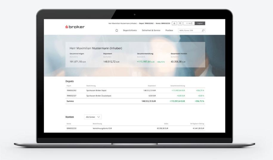 s broker trading plattform