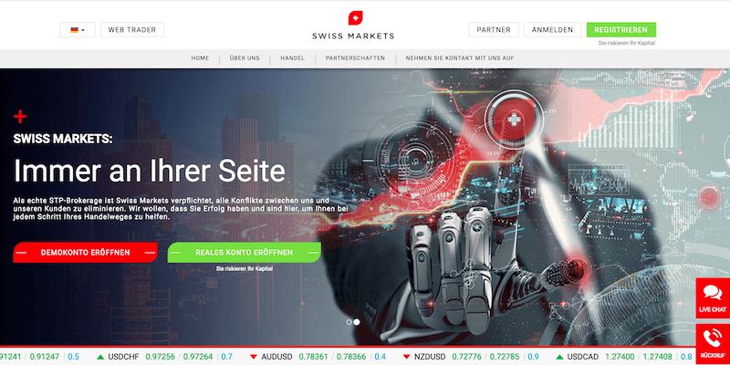 Swiss Markets Erfahrungen von Aktiendepot.com