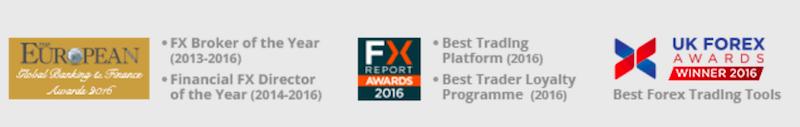 UFX Auszeichnungen