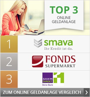 Top3 Online-Geldanlage