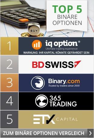 Top 5 Binaere Optionen Anbieter
