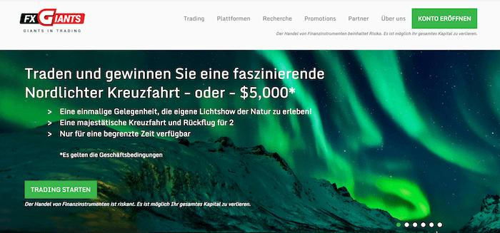 FXGiants Erfahrungen von Aktiendepot.com
