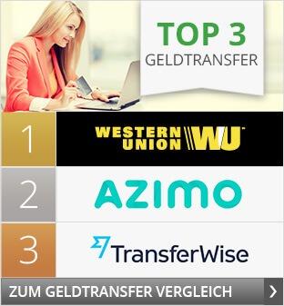 Top3 Geldtransfer