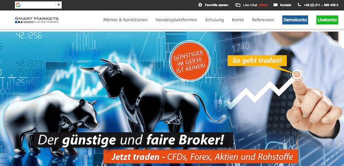 Smart Markets Erfahrungen von Aktiendepot.com