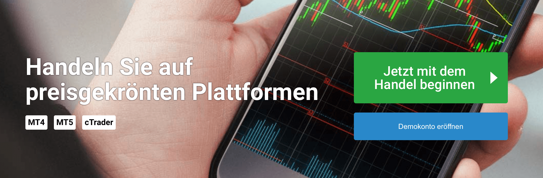 Bei FxPro handeln Trader über preisgekrönte Plattformen