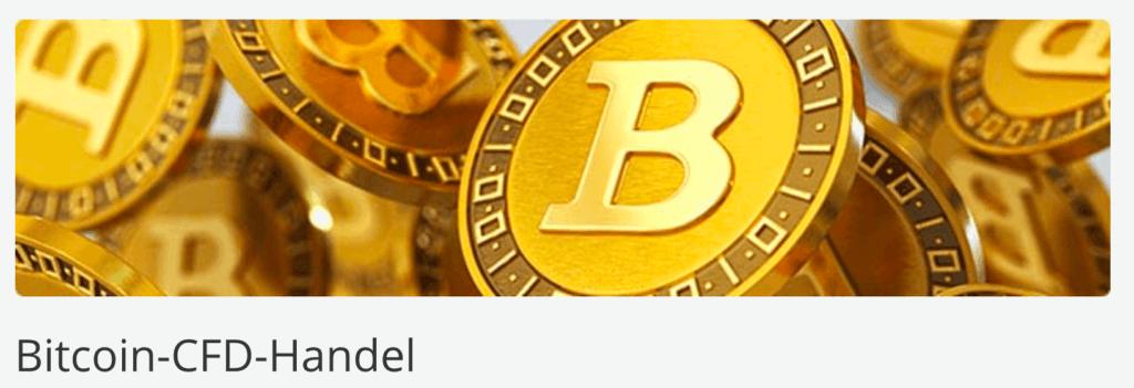 AvaTrade Bitcoin-CFD Handel