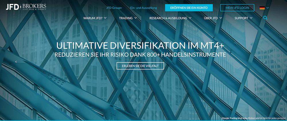 JFD Brokers Krypto Erfahrungen von Aktiendepot.com