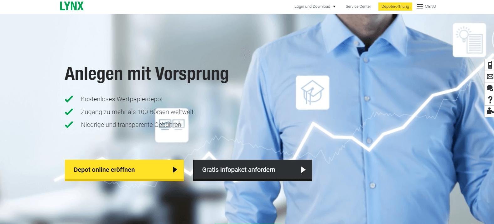 Lynx ist einer der wenigen deutschen Broker, der den Bitcoin Future Handel ermöglicht.