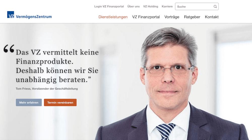 VermögensZentrum Erfahrungen von Aktiendepot.com