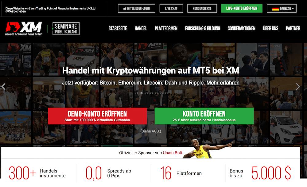XM Krypto Erfahrungen von Aktiendepot.com