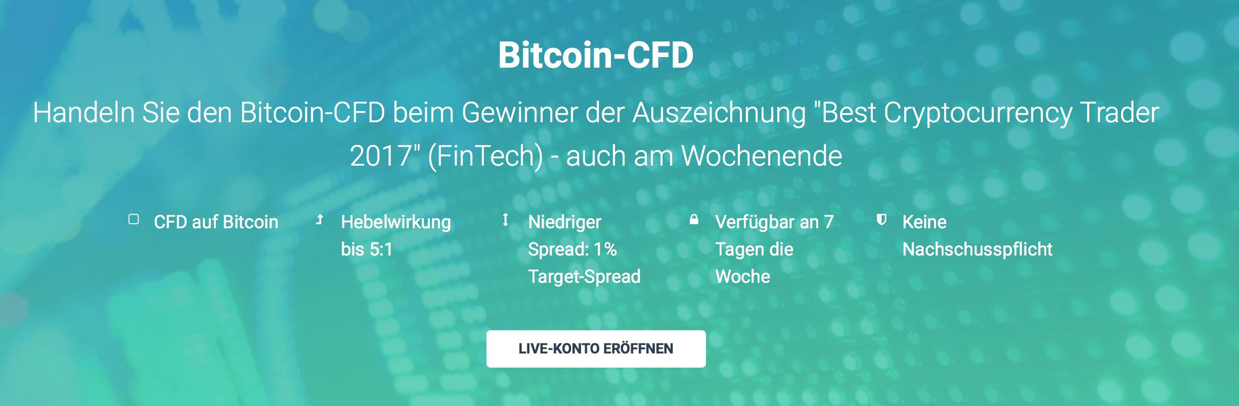 XTB hält Bitcoin-CFD für seine Kunden bereit