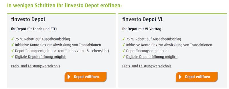 finvesto Depots