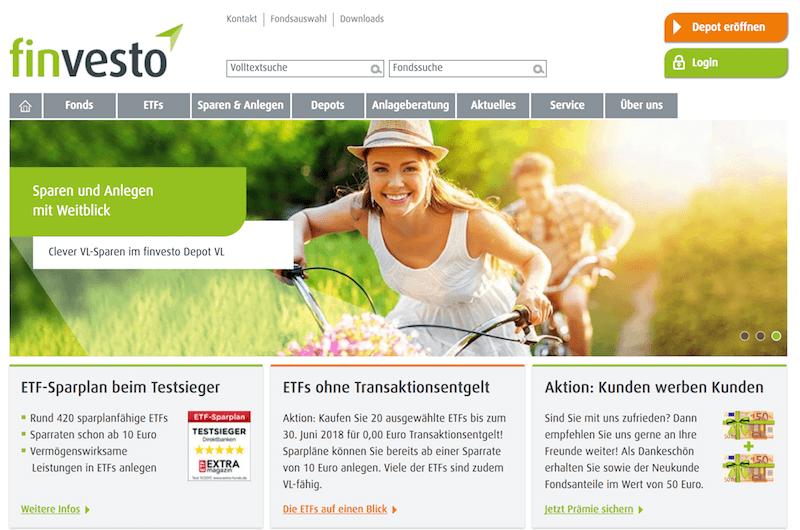 finvesto Erfahrungen von Aktiendepot.com