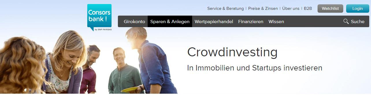 consorsbank exporo partnerschaft