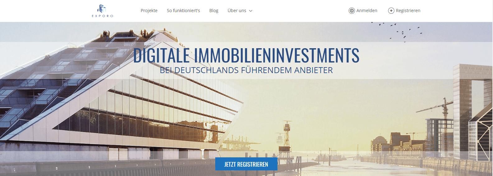 Bei der Consorsbank jetzt auch digitale Immobilieninvestments tätigen.