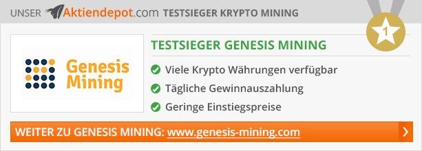Mining Anbieter Vergleich von Aktiendepot.com