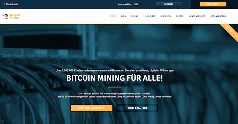 Genesis Mining Erfahrungen von Aktiendepot.com