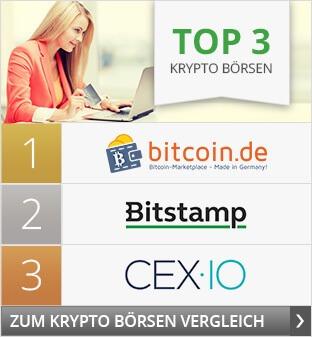 Top3 Krypto Börsen