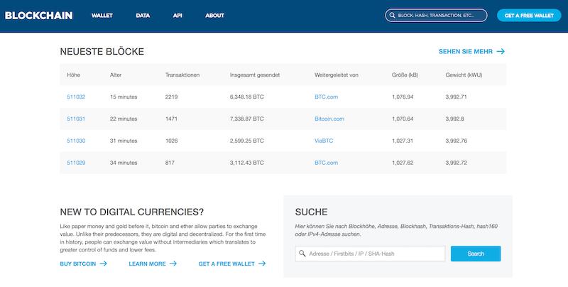 Blockchain.info Wallet Erfahrungen von Aktiendepot.com
