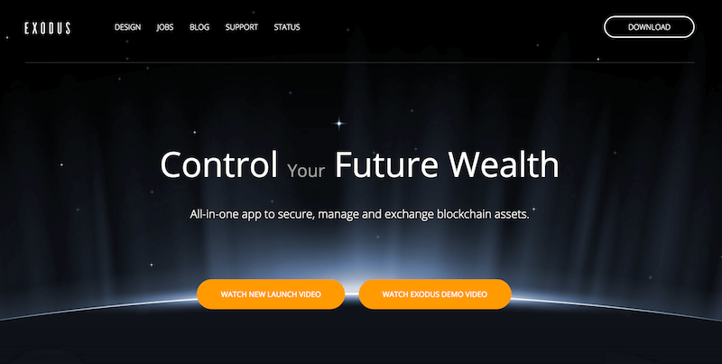 Exodus Wallet Erfahrungen von Aktiendepot.com