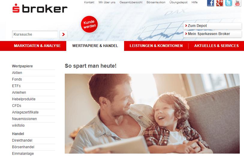 S Broker Sparpläne