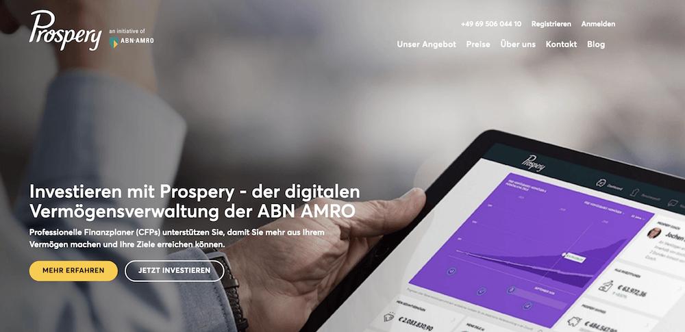 Prospery Erfahrungen von Aktiendepot.com