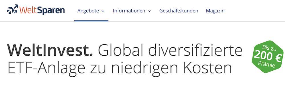WeltInvest Erfahrungen von Aktiendepot.com
