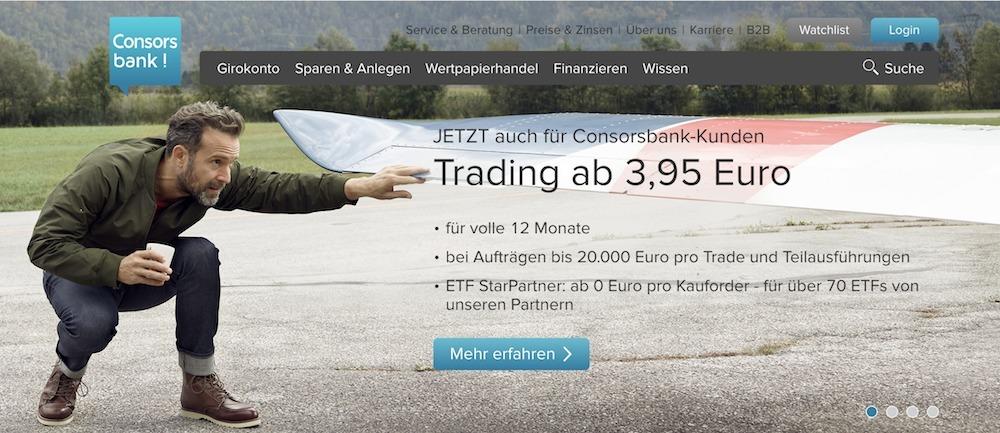 Consorsbank ETF Sparplan Testsieger
