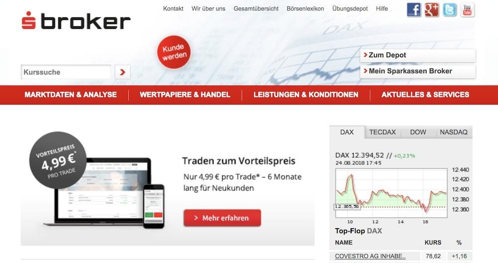 s Broker Webseite
