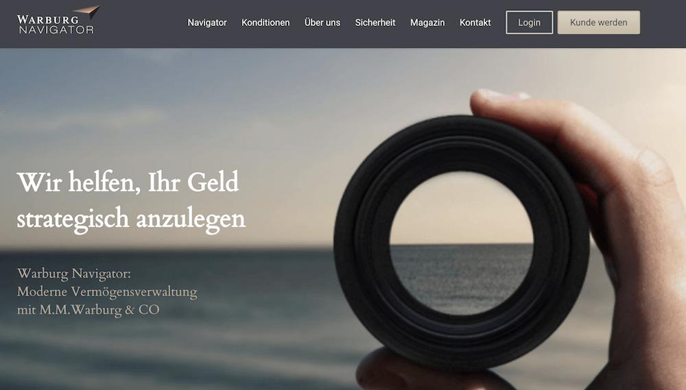 Warburg Navigator Erfahrungen von Aktiendepot.com