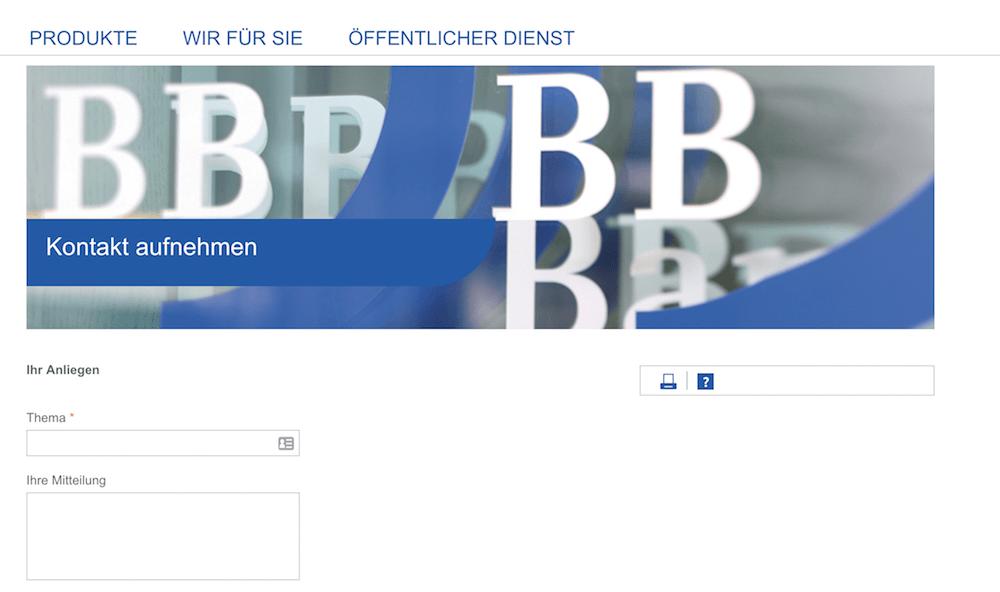 BBBank Kundensupport
