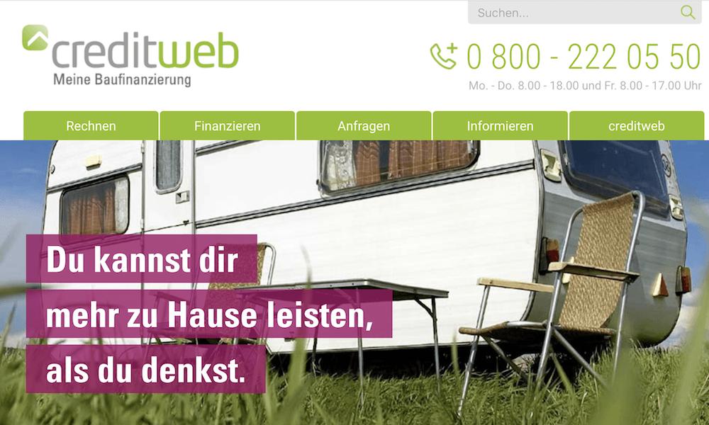 creditweb Baufinanzierung Erfahrungen von Aktiendepot.com