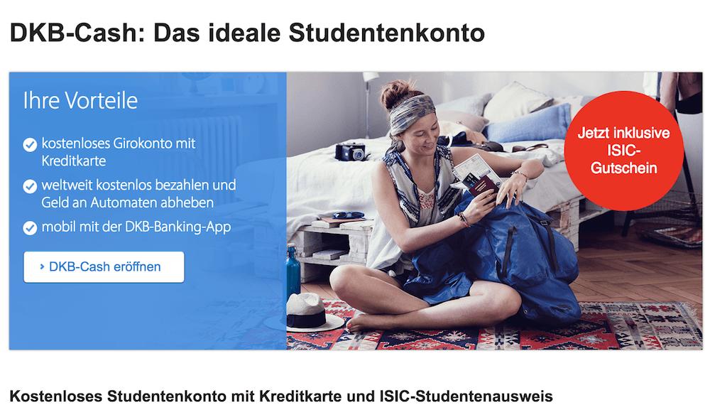 DKB Bank Studenten Girokonto
