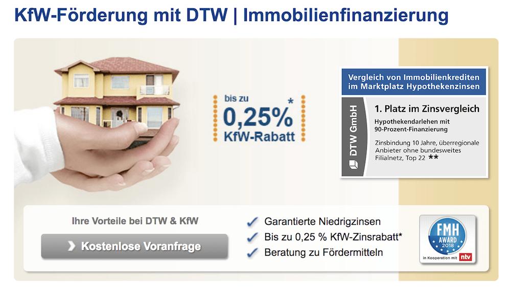 DTW KfW Förderung